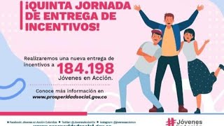 ENTREGA de INCENTIVOS JOVENES en ACCION Oct-Nov 2019.
