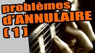 GUITARE ET PROBLÈMES D'ANNULAIRE #1