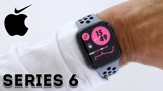 Apple Watch Series 6 NIKE EDITION - Unboxing & Set up (What is different?)