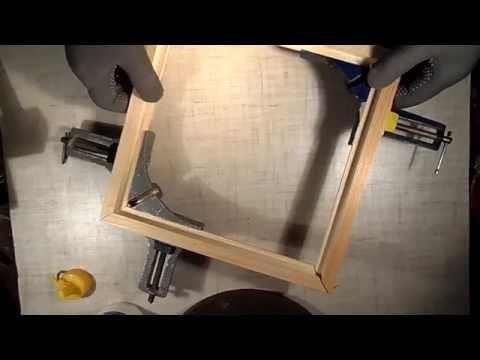 Сделать деревянную рамку видео