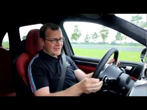 New Porsche Cayenne Turbo S 2013 Driven Road Test Engine Sound Commercial Carjam Car Show TV