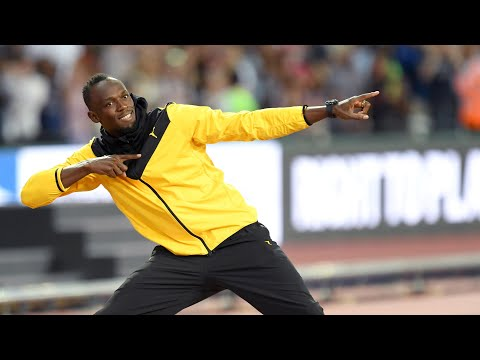 Usain Bolt bids farewell to athletics following world championships