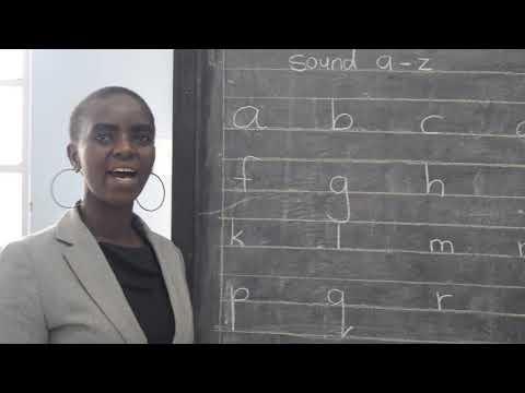 Fanaka Junior School Pp1 Language lesson 1