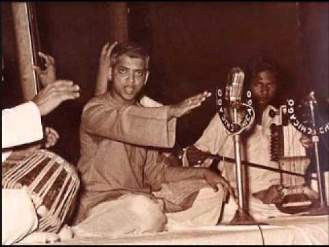 Pt D V Paluskar -Raag Bilawal daiyaa kahaaM gaye loga brija ke basaiyaaM