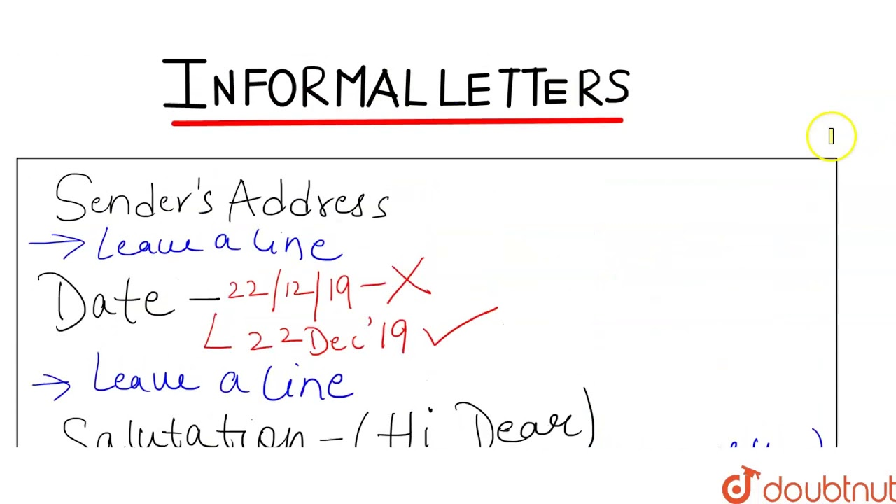Letter To And From Format from i.ytimg.com
