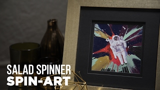 DIY Galaxy Spin Art - HGTV Handmade