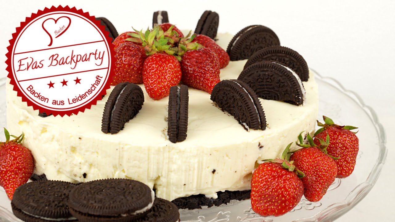 oreo torte ohne zu backen cake with oreo no bake fruchtig youtube. Black Bedroom Furniture Sets. Home Design Ideas