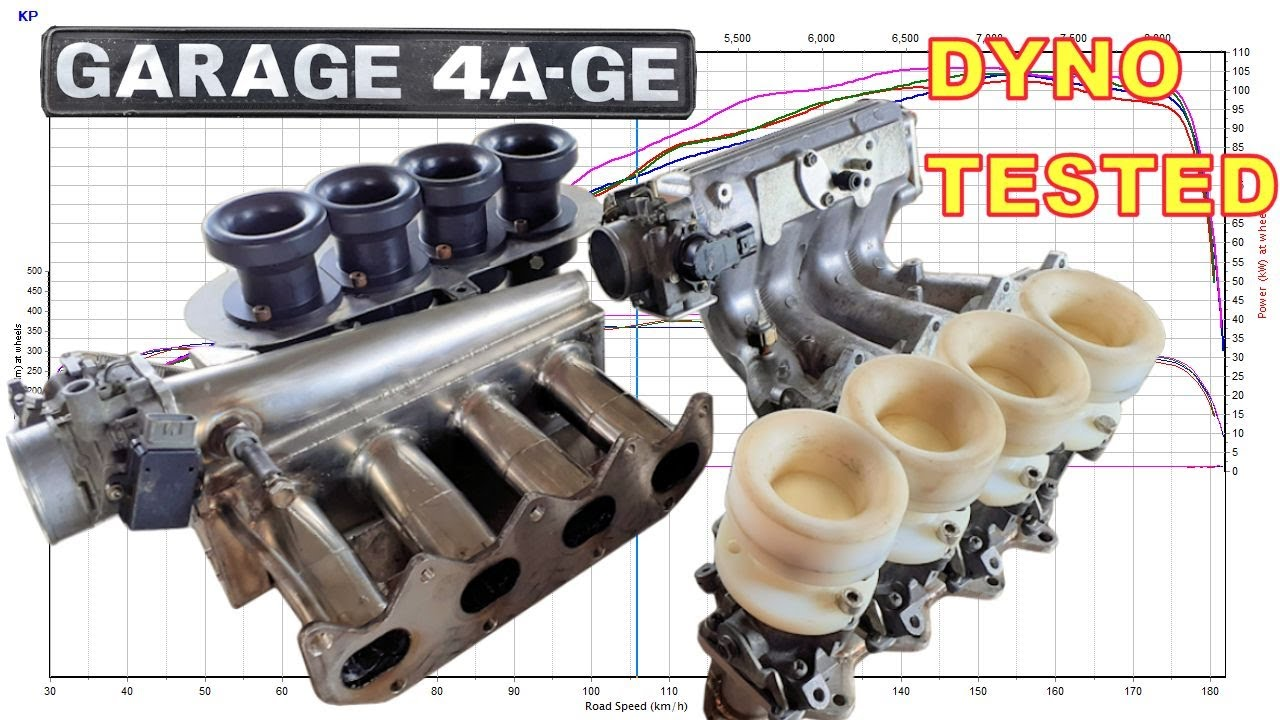 Download ITB's vs Single throttle inlet manifold - Gold 4age - Garage4age