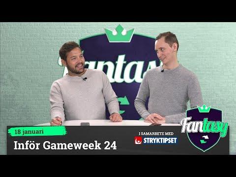 Fantasy: Inför Gameweek 24