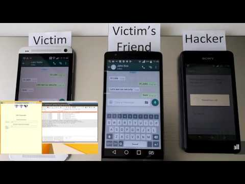 Hack any WhatsApp account using SS7 attack