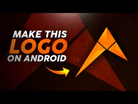 How To Make A Concept Logo On Android Using Ps-touch || Initial ESports Logo Tutorial || By Drager
