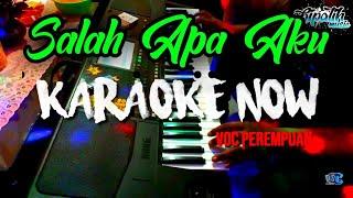 Koplo Salah Apa Aku Entah Yang Merasukimu Karaoke