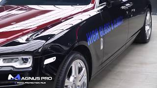 Rolls Royce Ghost & Wraith x MAGNUS PRO Paint Protection Film PPF