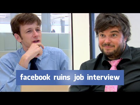 Facebook Ruins Job Interview