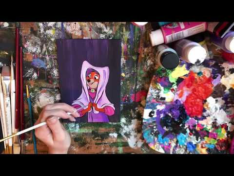 Speed Painting: Maid Marian