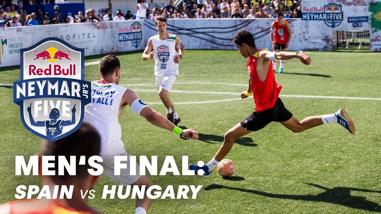 Red Bull Neymar Jr's Five 2019 Men's Final: Spain vs Hungary | Five-A-Side Football Tournament