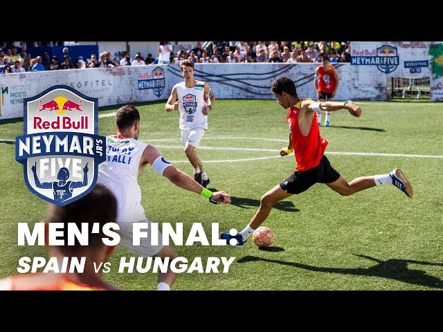 Red Bull Neymar Jr's Five 2019 Men's Final: Spain vs Hungary   Five-A-Side Football Tournament