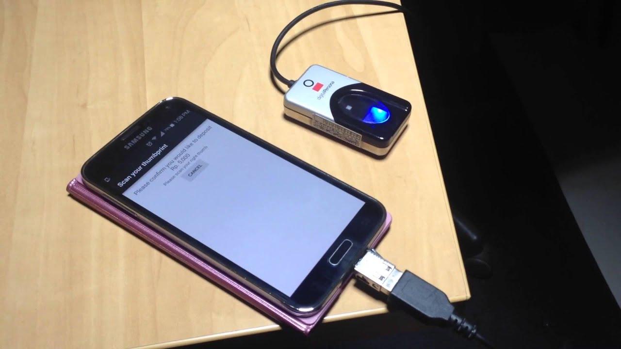 Fingerprint capture on Android
