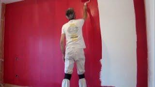Gambar cover Como Pintar Paredes en plastico Blanco y Esmalte Granate
