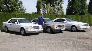 Beautiful Mercedes Coupes Compared Side-by-Side: 6 cylinder, V8, and V12