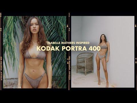 Isabelle Mathers Inspired KODAK PORTRA 400 Lightroom Mobile Effect