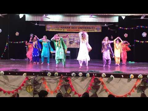 JASHAN 2018 GNDU CREATIVE DANCE ECONOMICS DEPARTMENT