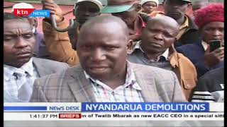 Families left homeless in Kinangop after hired goons demolished their houses