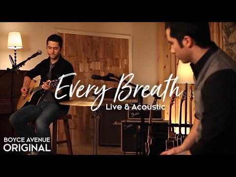 Music video Boyce Avenue - Every Breath (Live Acoustic)