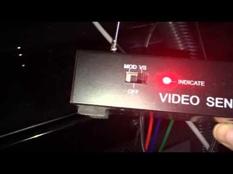 TV Tech: Wireless UHF Video Sender WV-300 NTSC