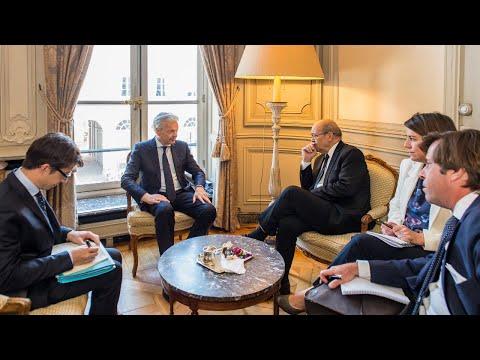 14/01/19 INFOS DE CHEZ NOUS. LA BELGIQUE ET LA FRANCE PREPARENT LE CHAOS EN RDC.