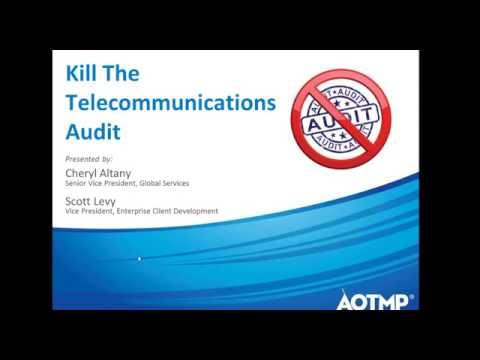 Kill the Telecommunications Audit