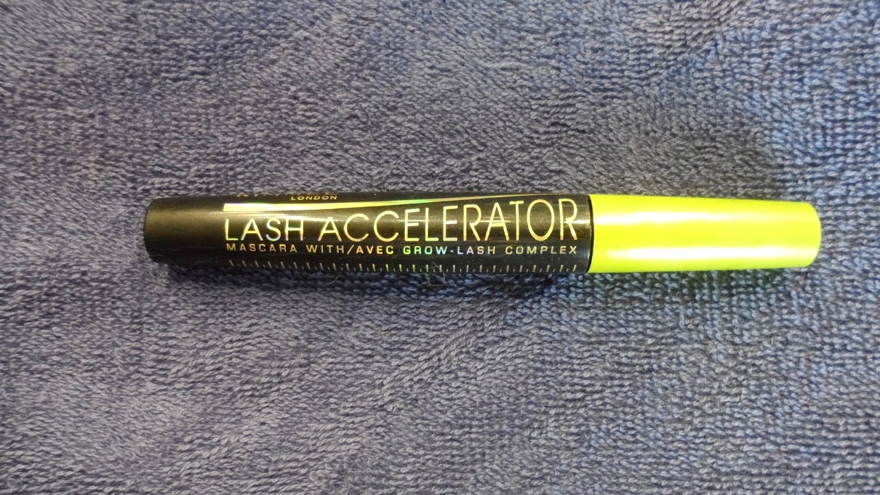 8d667b7f354 RIMMEL LONDON LASH ACCELERATOR MASCARA REVIEW & DEMO! - YouTube