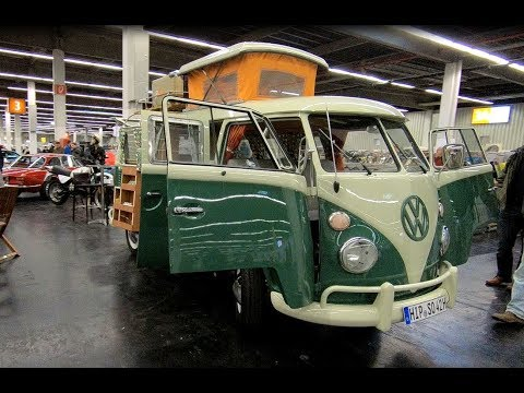 volkswagen vw t1 bulli s042 original westfalia camper van 1965 oldtimer walkaround interior. Black Bedroom Furniture Sets. Home Design Ideas