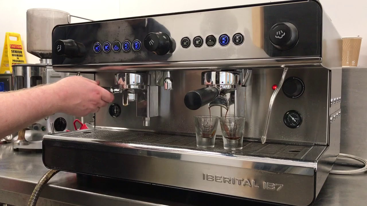 Iberital IB7 refurbished traditional Espresso machine ...