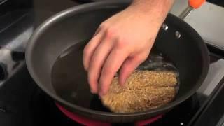 Almond Crusted Tilapia: Tropical Class