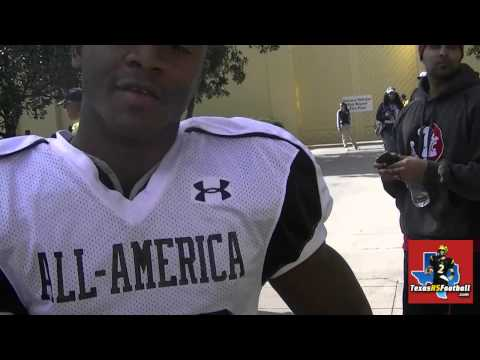 Johnathan Gray - Under Armour Practice