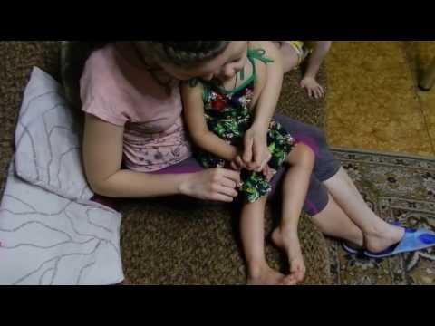 Как научить ребёнка стричь ногти с удовольствием// Весёлые потешки