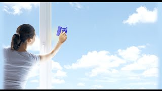Как безопасно помыть окна на большой высоте