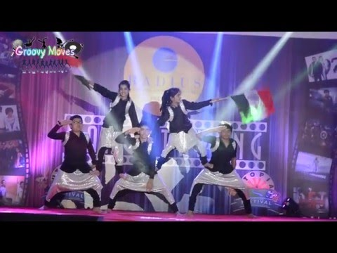 Vande Mataram - Disney's ABCD 2 -  kids performance