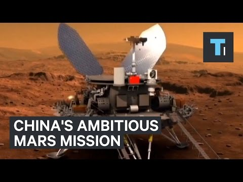 China's ambitious Mars mission