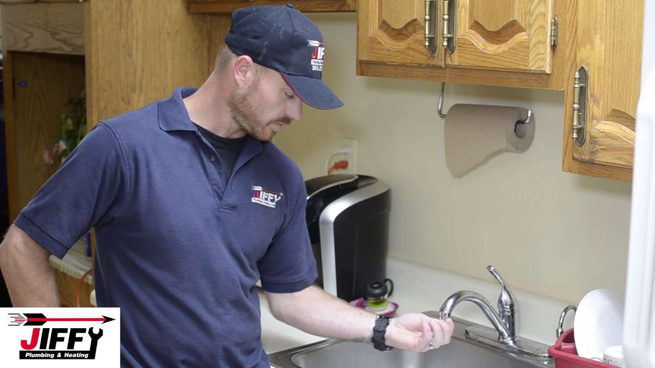 How To Fix Water Pressure In Kitchen Faucet Jiffy Plumbing