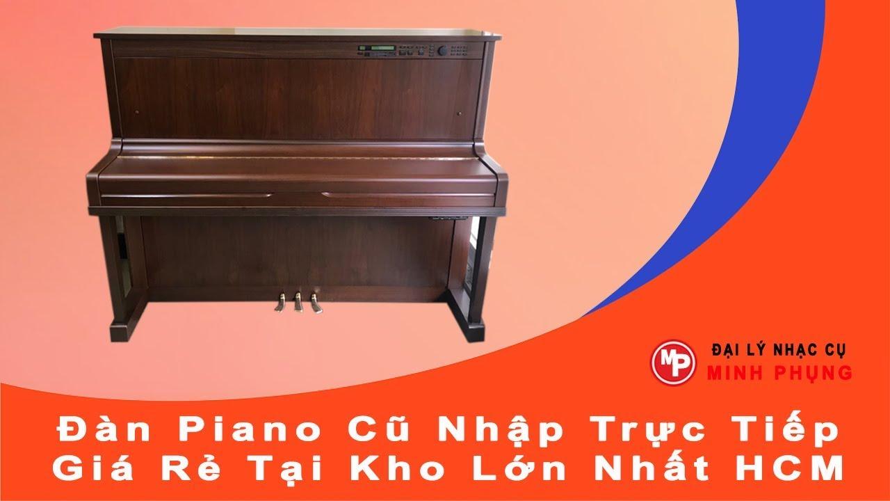 Bán Đàn Piano Cơ Cũ Yamaha HQ100WN - Mới 90% Giá Rẻ Chính Hãng