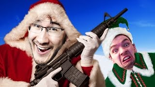 LAUGHING THROUGH CHRISTMAS | Prop Hunt Funny Moments #30