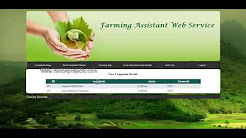 Farming Assistant Web Service