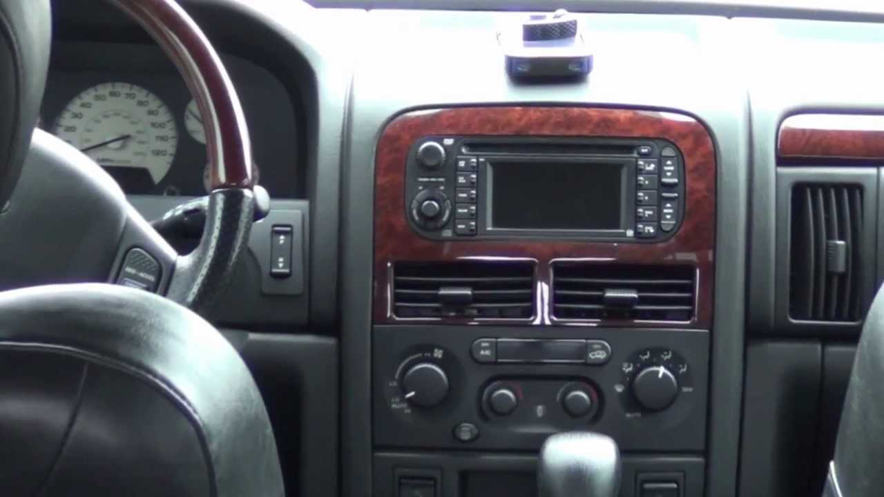2004 jeep grand cherokee overland edition youtube. Black Bedroom Furniture Sets. Home Design Ideas