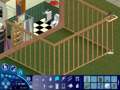 Let's Play The Sims #21: Samuel Builds an Extension