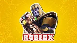 Roblox Thanos Simulator