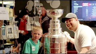 SickKids: Phil Kessel and the Stanley Cup
