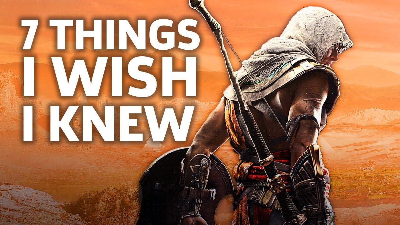 Assassin's Creed Origins - 7 Essential Tips