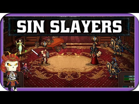 Who's That Indie? SIN SLAYERS | Squad Based Turn Based RPG With Roguelike Elements Game |